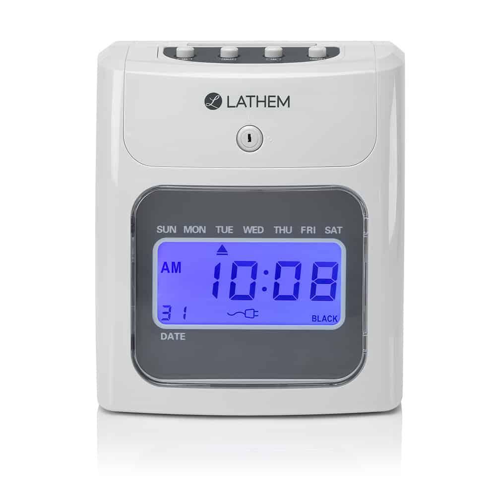 400e Top Feed Time Clock Bundle