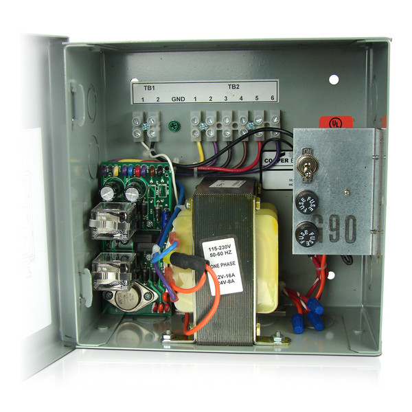 Power Supply 24vac 8a For 2 Wire Isc Clocks